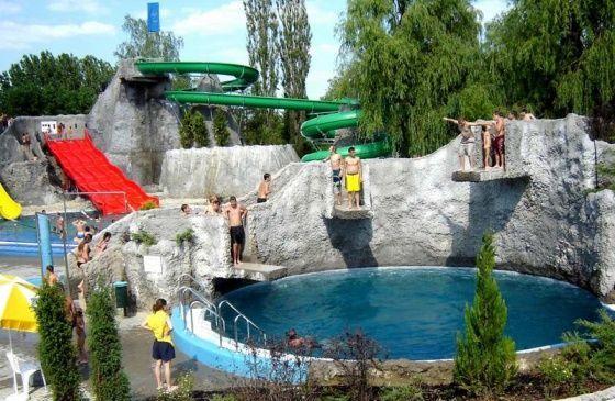 Virágfürdő, Kaposvár